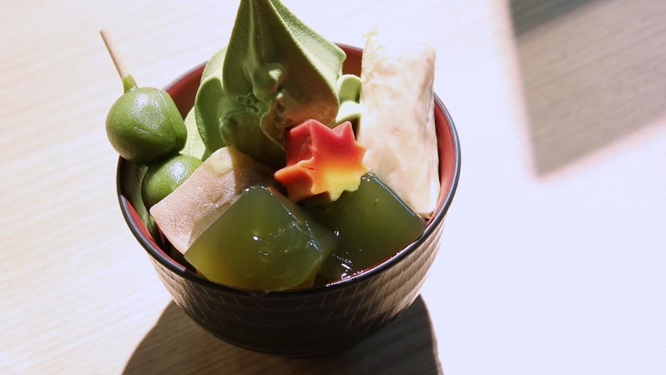GREEN CAFE STYLE 茶乃逢の「京もてなし 香雲(こううん)」