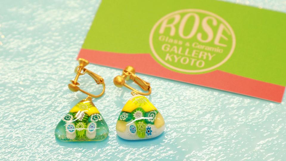 「ROSE GLASS GALLERY KYOTO」で世界に1つの作品作り