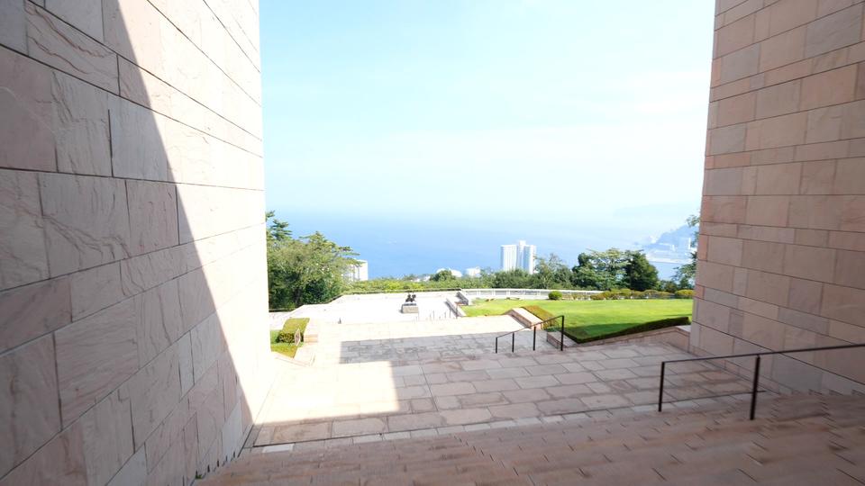 MOA美術館から見える海景色