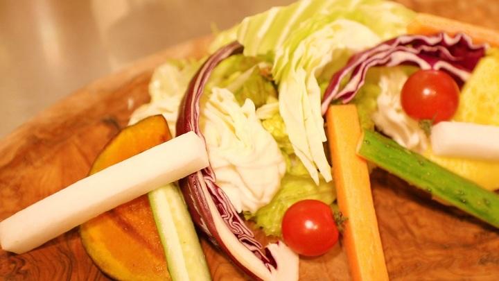 新鮮な泉州野菜