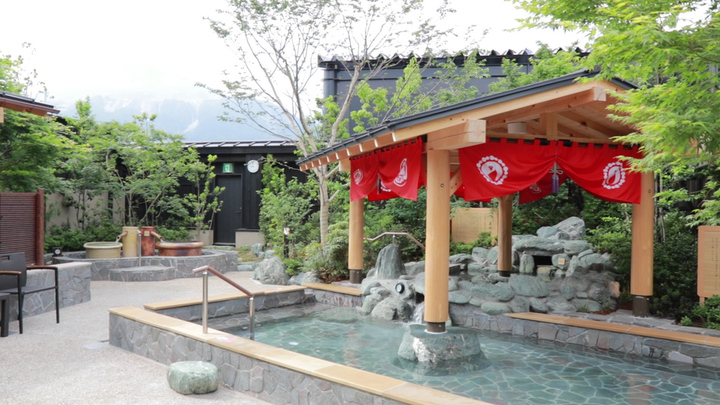 西武秩父駅前温泉 祭の湯の露天風呂