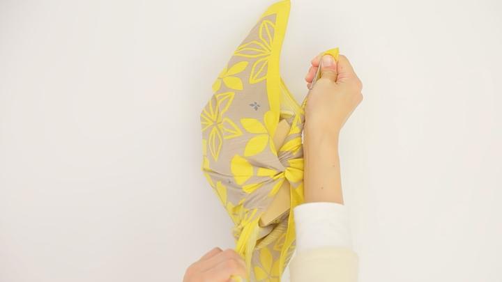 お弁当包みもラッピングにも使える包み方「花びら包み」をご紹介♪の4番目の画像