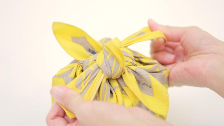 お弁当包みもラッピングにも使える包み方「花びら包み」をご紹介♪の8番目の画像