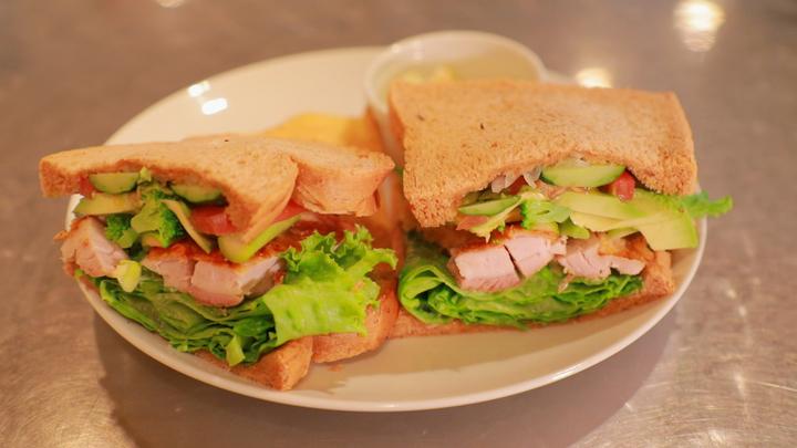 「cafe masumiya」のサンドイッチ