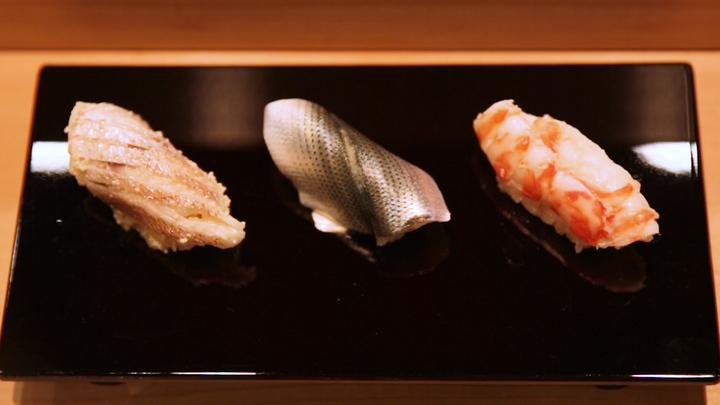 戸越銀座の寿司店「なかのや」のお寿司