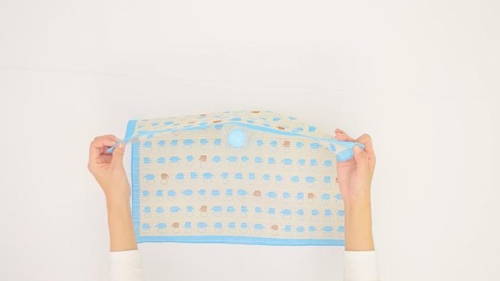 簡單的使用風呂敷!不需要水壺的時尚「寶特瓶包法」♪の2番目の画像