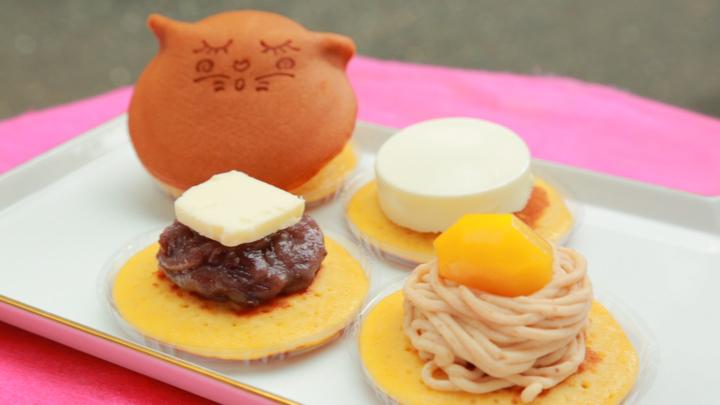 福岡土産にどうぞ! 食べるのがもったいない猫ちゃんどらやき「たまあん」の4番目の画像