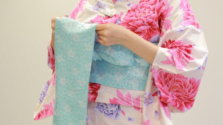 使用「角出風變化結」,讓浴衣變華麗の11番目の画像