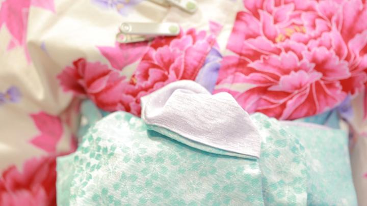 使用「角出風變化結」,讓浴衣變華麗の19番目の画像