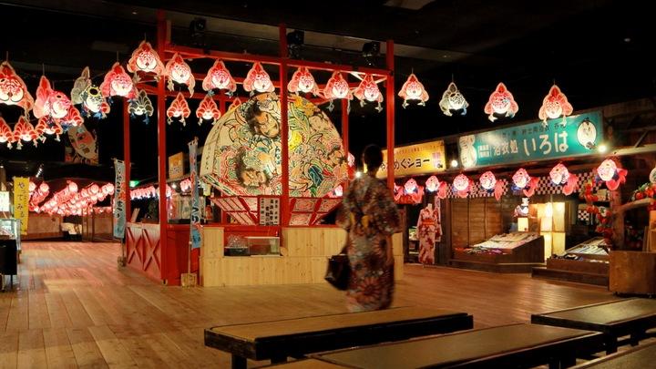 擁有祭典主題樂園的溫泉旅館「星野渡假村 青森屋」の2番目の画像