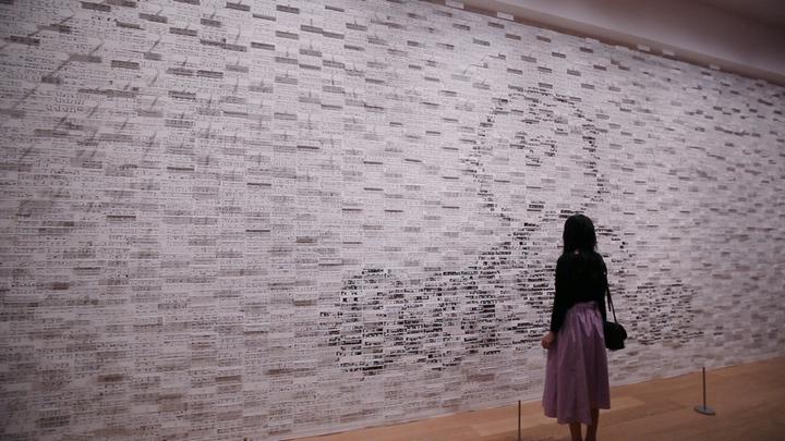 「スヌーピーミュージアム」の展示作品