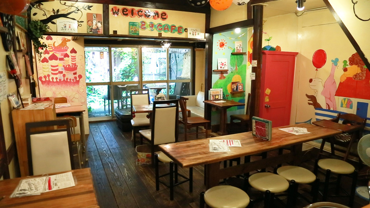 まるで絵本の中の世界「89cafe」は遊びココロ詰まったリラックス古民家カフェの1番目の画像