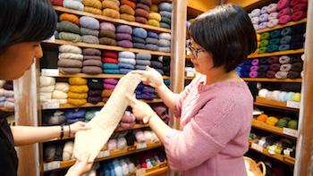 編み物好きの聖地!手編み糸の専門店「パピー 下北沢店」の4番目の画像