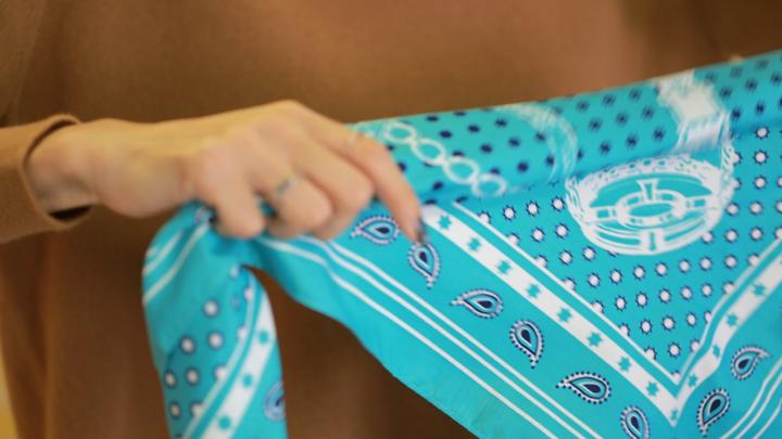 成熟風絲巾圍法Vol.1 高級穿搭術の4番目の画像