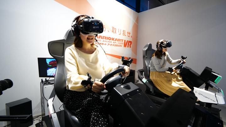 「VR ZONE SHINJUKU」でマリオカート体験