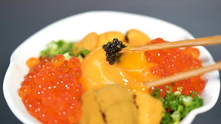 「十番右京 恵比寿店」の卵かけご飯