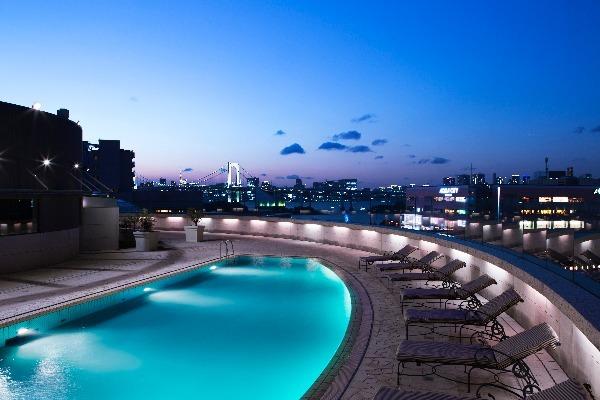 グランドニッコー東京 台場のプール