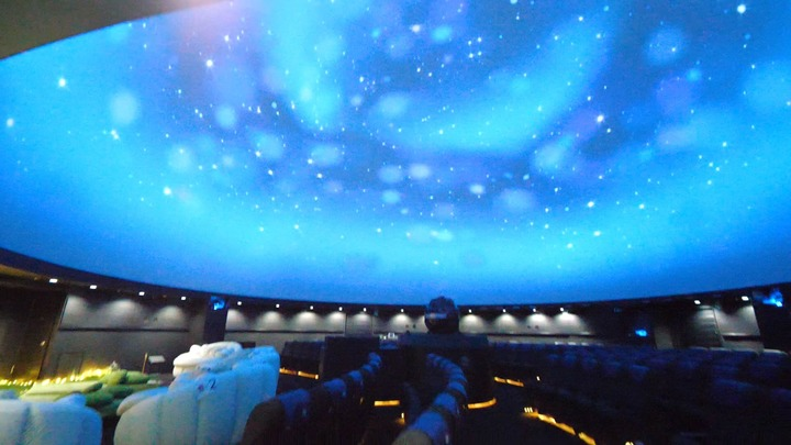 壮大な星空