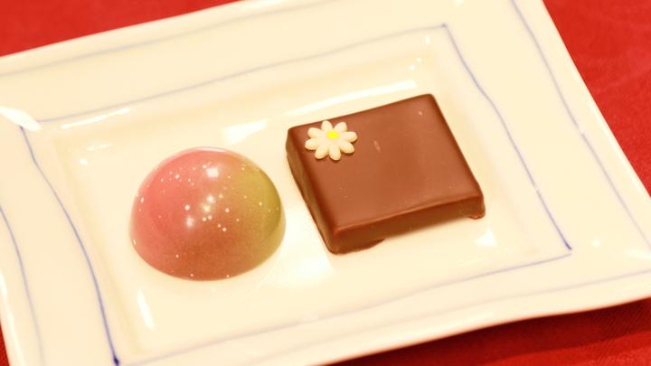 「サロンドロワイヤル京都」のチョコレート