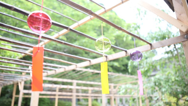 「正寿院」の風鈴まつり