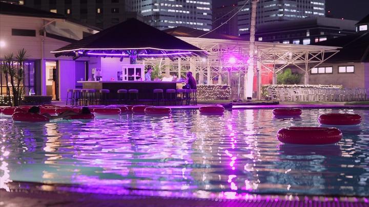 ホテルニューオータニ幕張の「ナイトプール」