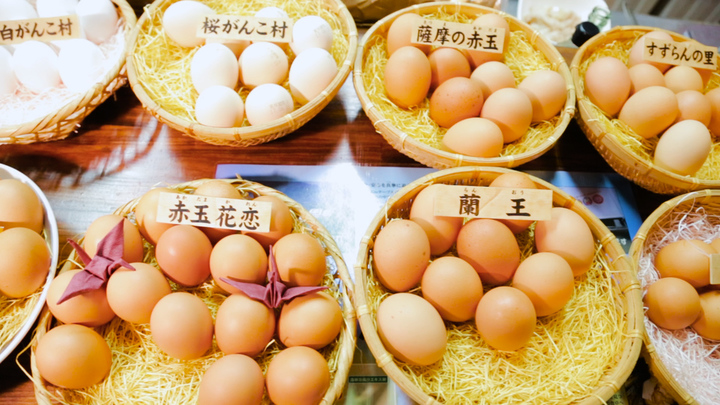 「美味卯」の卵かけご飯