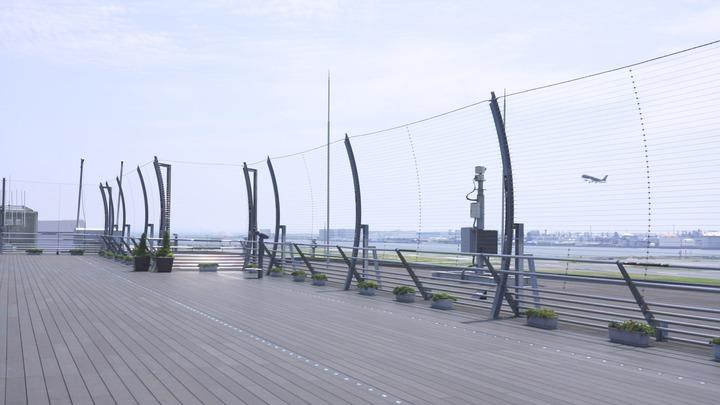 「第1旅客ターミナル展望デッキ」