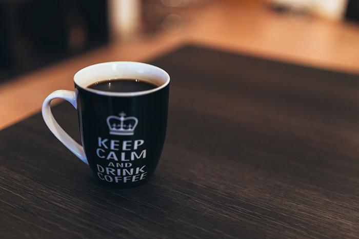 コーヒーをのんで「瞑想」