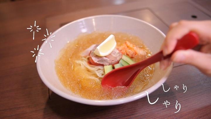 新宿「肉&麺」のミル麺