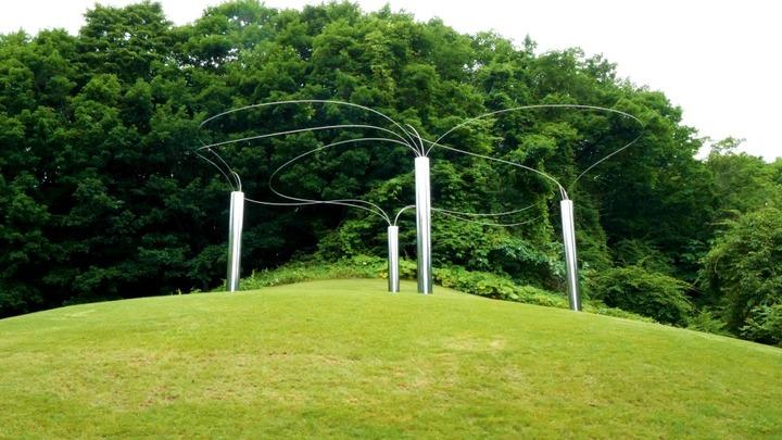 札幌芸術の森野外美術館のモニュメント