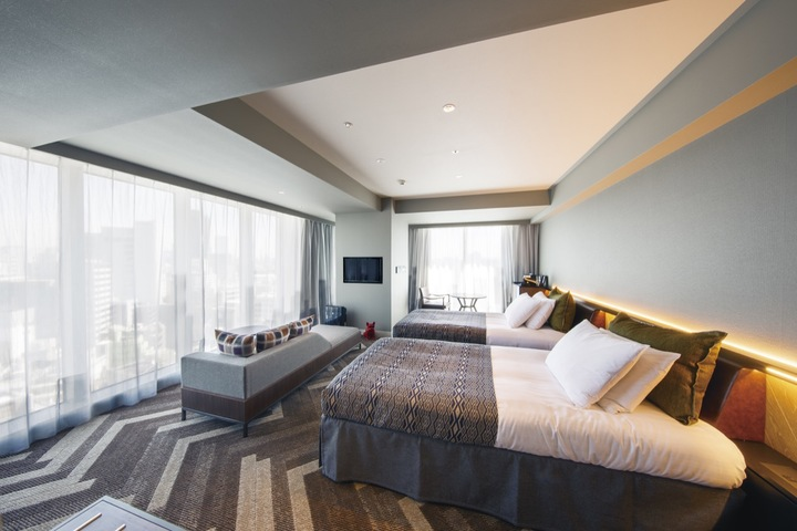 「渋谷ストリームエクセルホテル東急」の客室