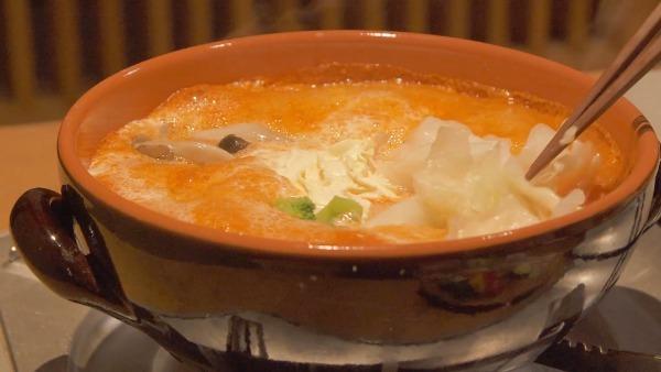 トマトチーズ鍋
