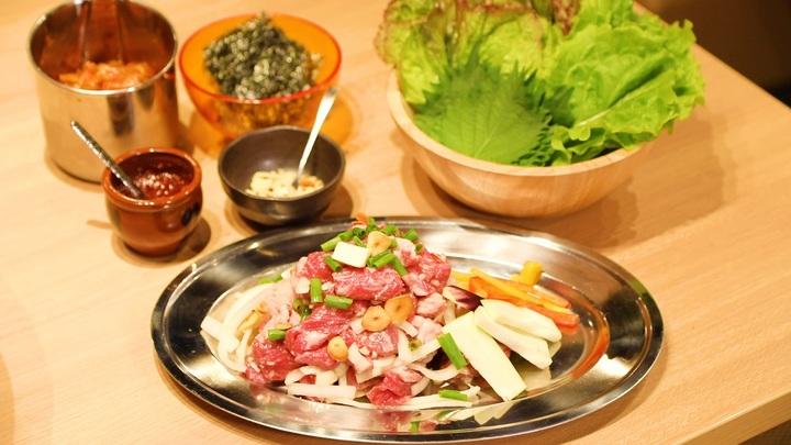 鉄板焼き肉セット