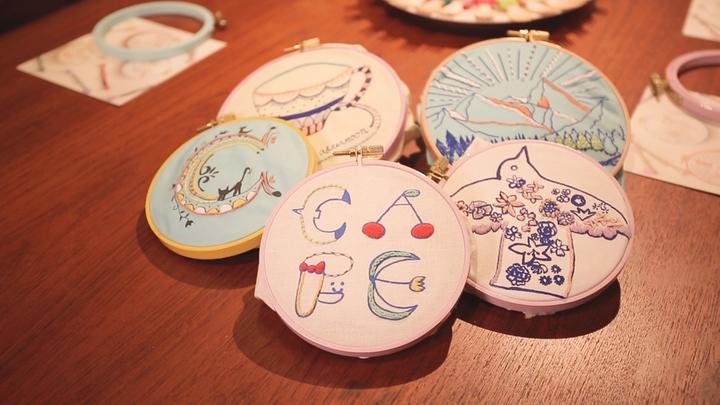 刺繍アート