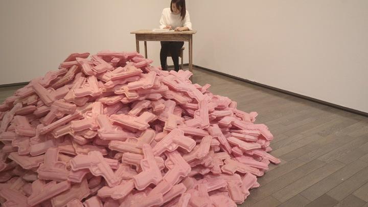 「アジアにめざめたら展」の作品