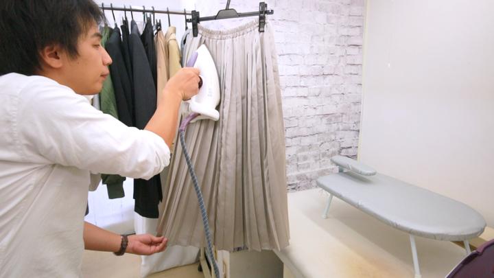 プリーツスカートの美しさを取り戻す!パリコレ職人がアイロンのコツ教えます!の4番目の画像
