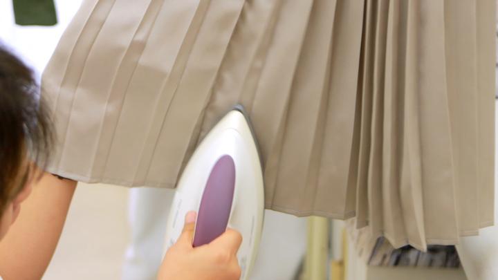 プリーツスカートの美しさを取り戻す!パリコレ職人がアイロンのコツ教えます!の8番目の画像