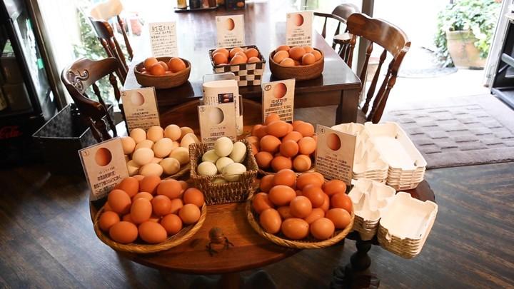 「喜三郎農場」の卵