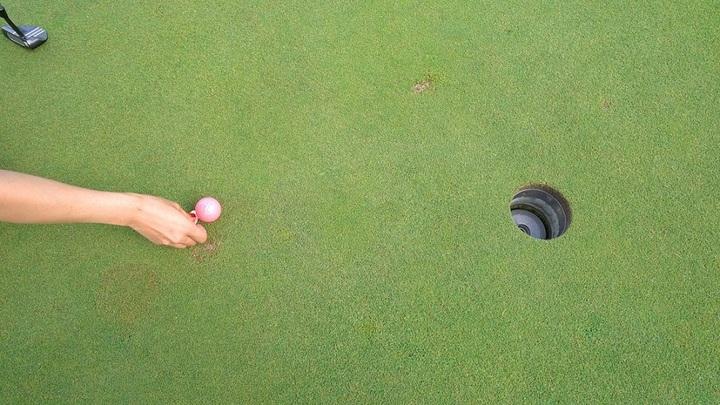 グリーン上でのゴルフマナー