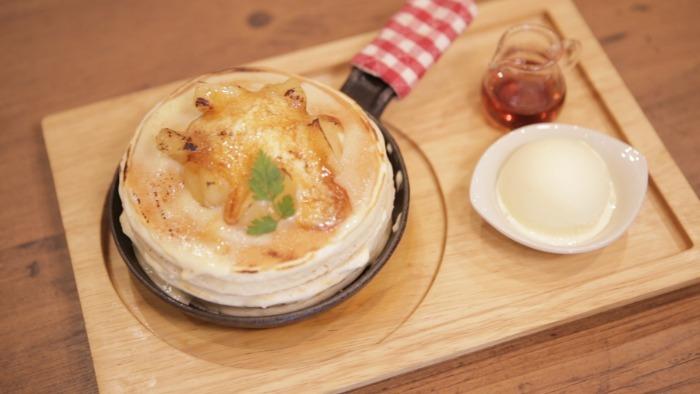 「パンケーキカフェ mog 京橋店」のパンケーキ