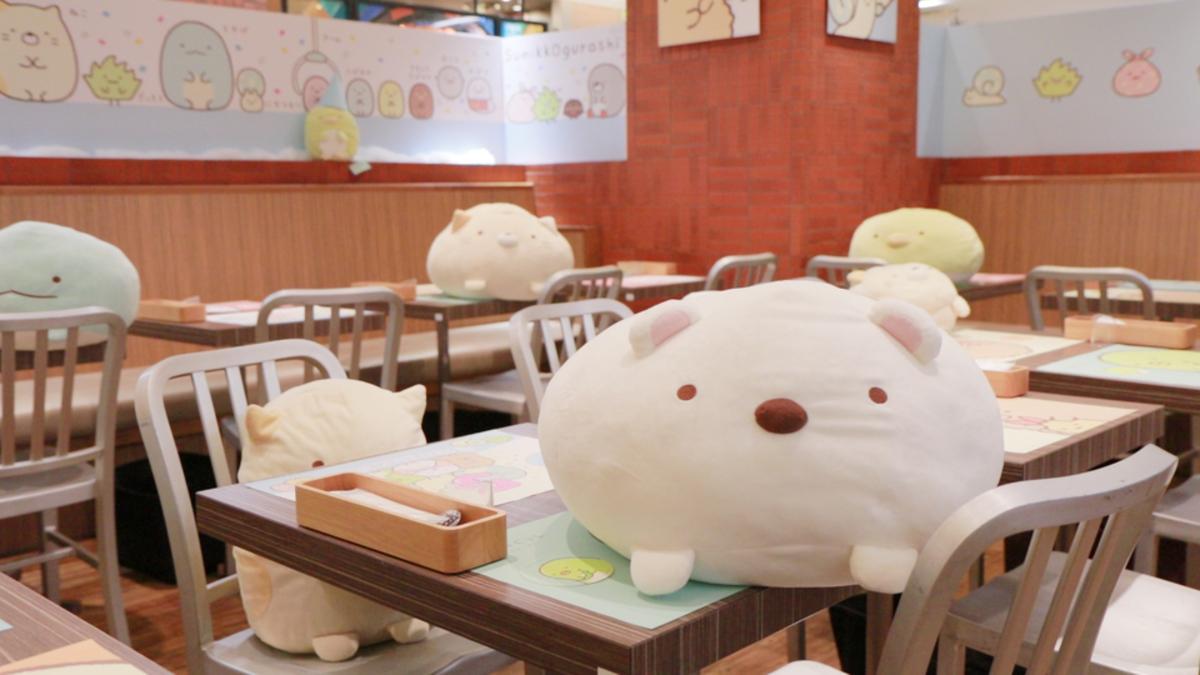 すみっコぐらし 5th Anniversary Cafe