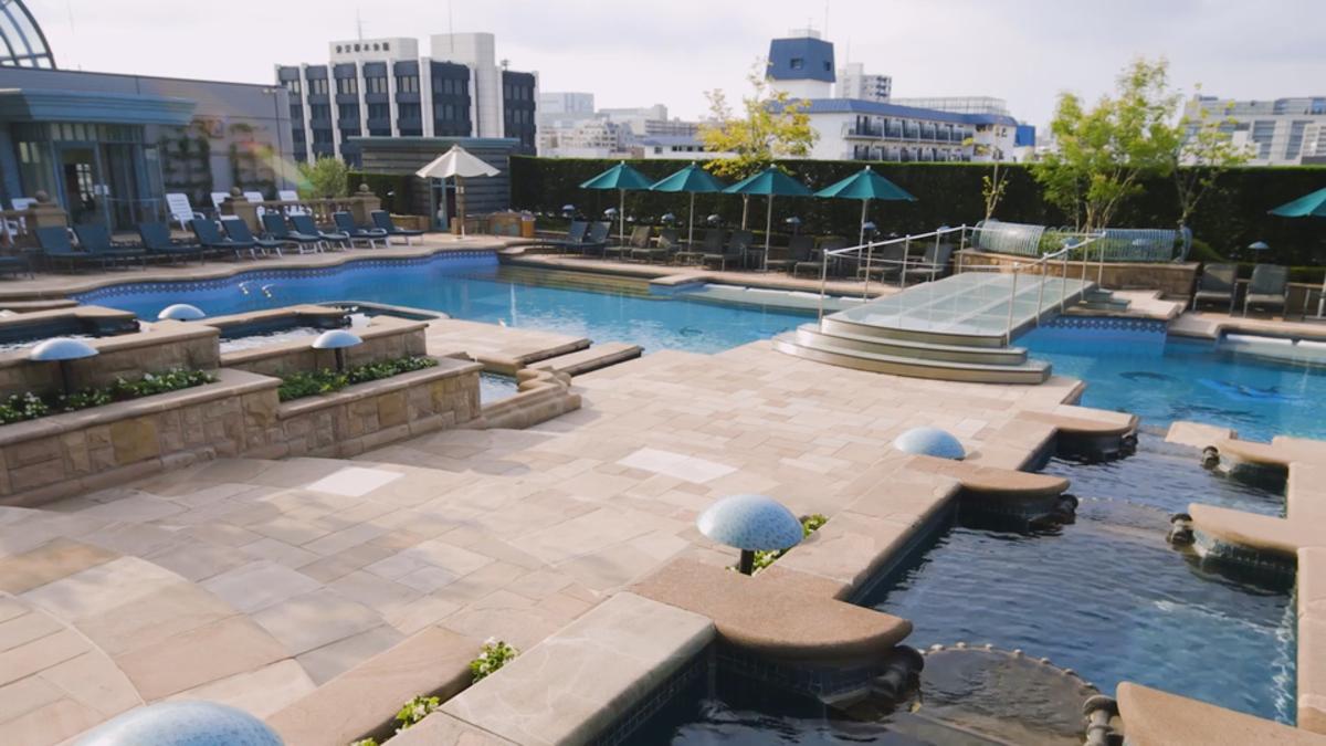 ホテル イースト21東京 ガーデンプール
