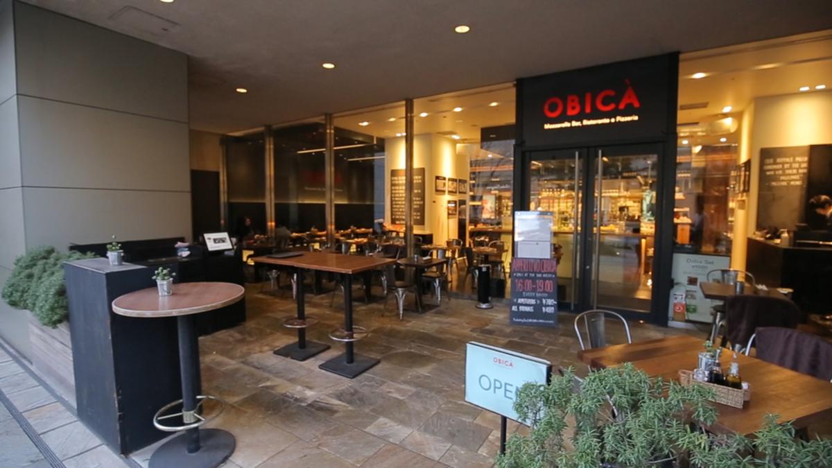 OBICA  MOZZARELLA BAR 六本木ヒルズ店