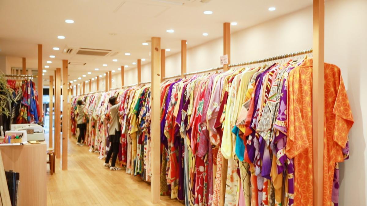 レンタル着物 てくてく京都 新清水店