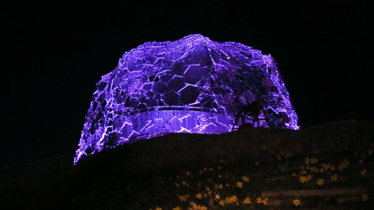 六甲山光のアート Lightscape in Rokko 夏バージョン~夏は夜~