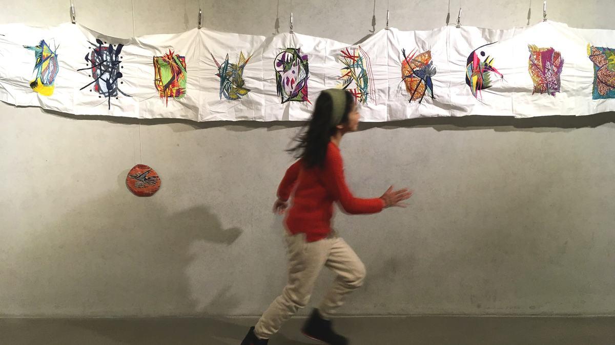 松岡亮展覧会『あなたの空だ。人の空にするな。』