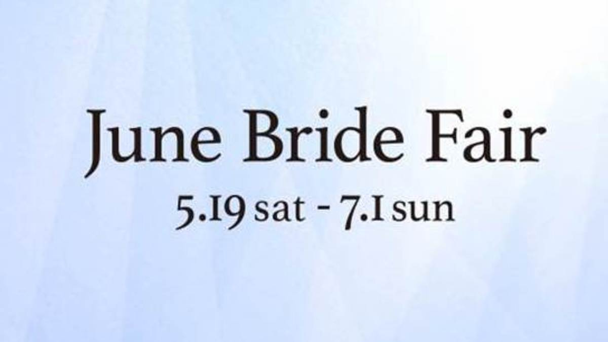 June Bride Fair