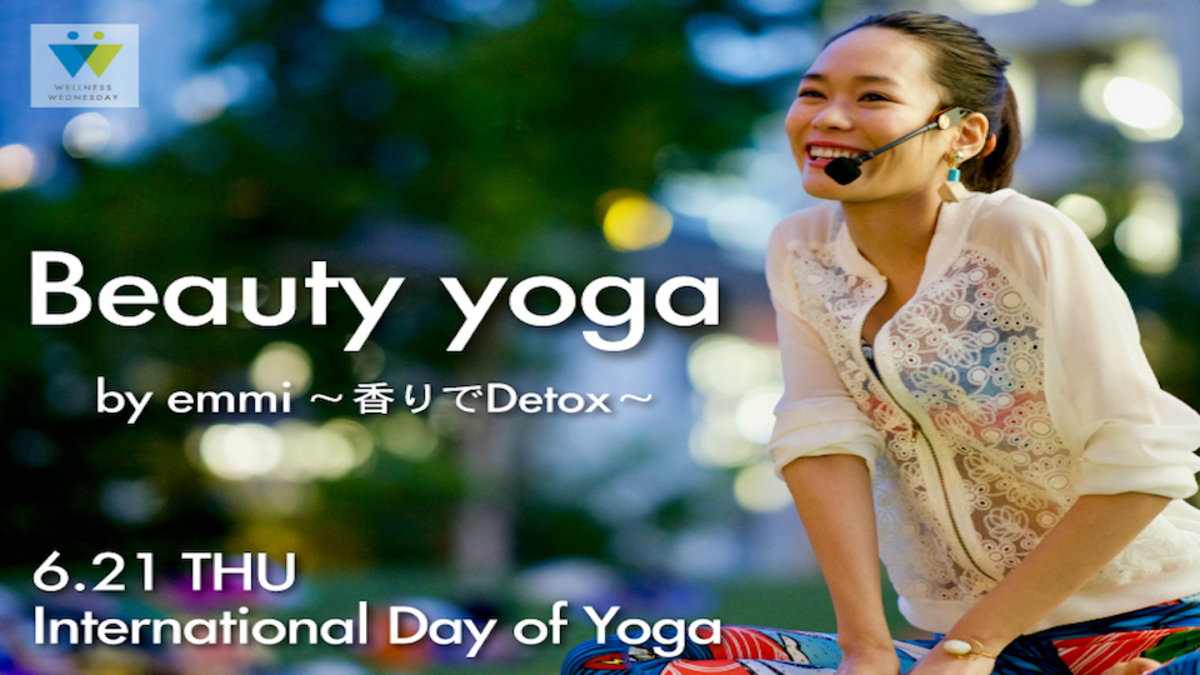 Beauty yoga by emmi ~香りでDetox~