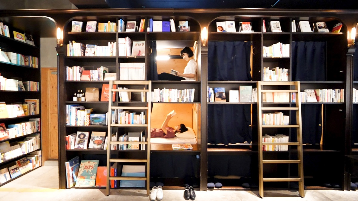 BOOK AND BED TOKYO 浅草