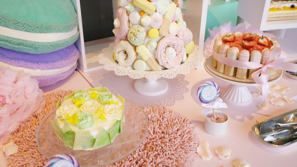 """「真夏の""""ゆめかわ""""ホームパーティー」~サマーデザートブッフェ~"""